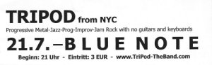 Blue Note ad