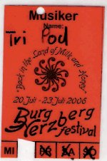 BHB Festival Stage Pass