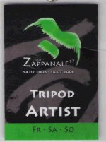 Zappanale stage pass