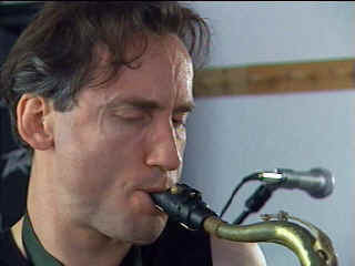 Keith on Tenor Sax